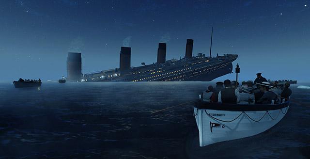 Titanic vr